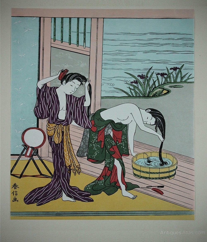 Suzuki Harunobu Woodblock Prints