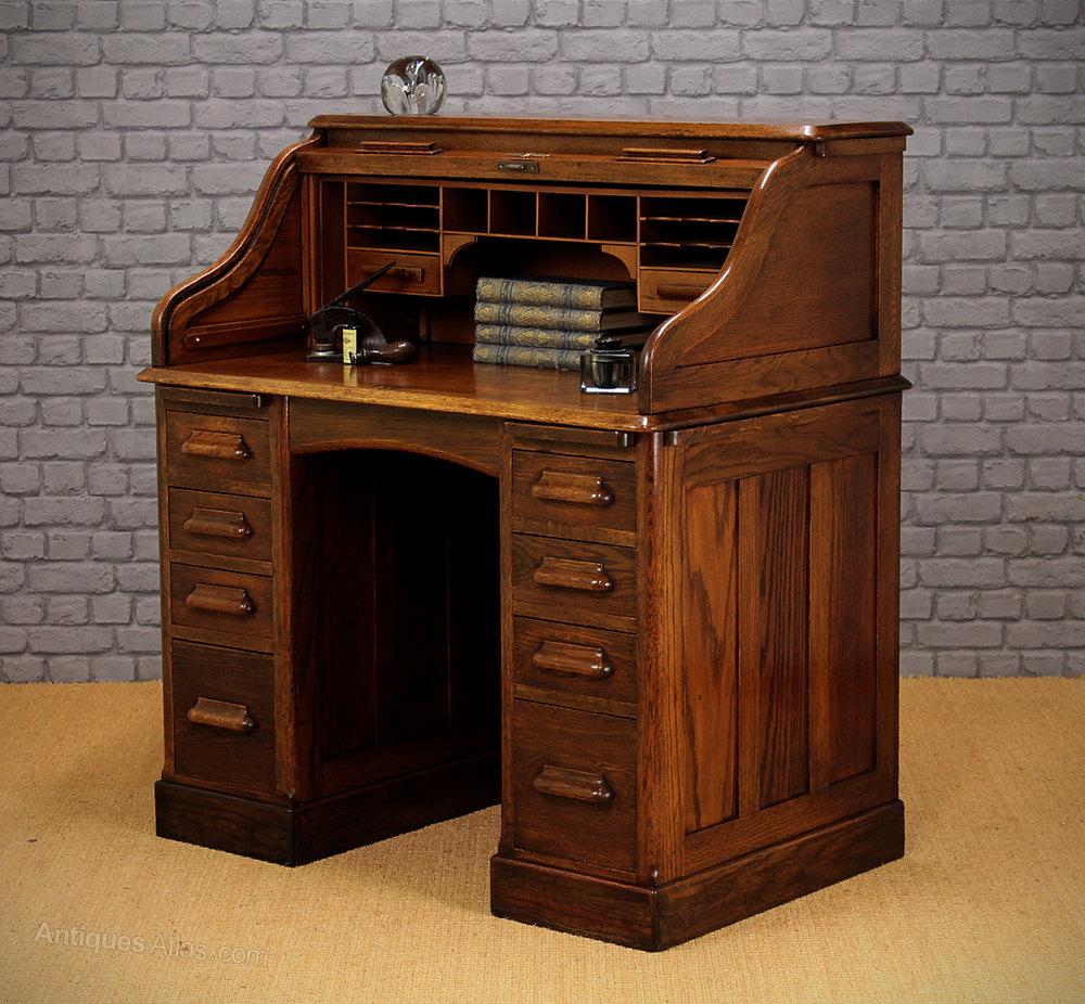Farmers Roll Top Desk   Amish Roll Top Desks – Amish Tables  Roll Top Desk