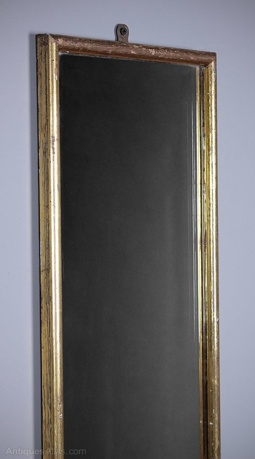 Antiques Atlas Tall Amp Narrow Gilt Framed Pier Glass C 1900