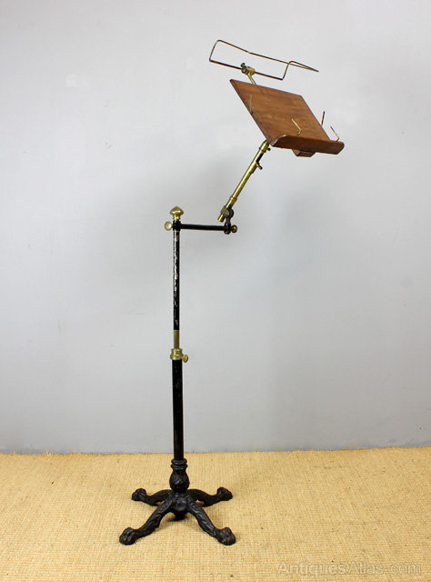 Victorian Adjustable Book Stand Antiques Atlas