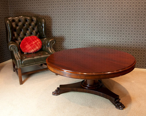Victorian Mahogany Coffee Table. Antique ...