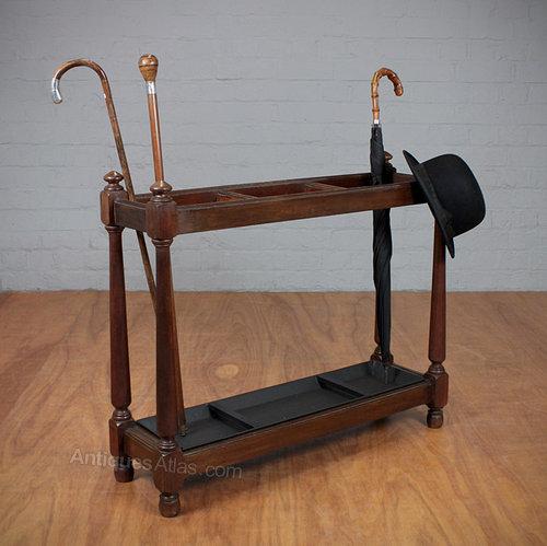 Umbrella Stand Next: Victorian Mahogany Umbrella Stand.