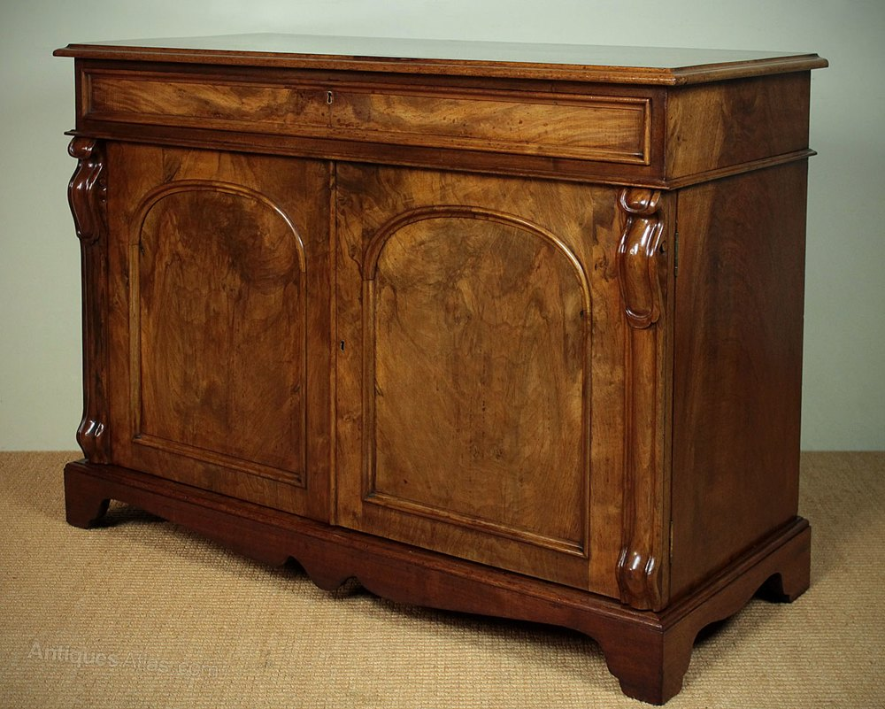walnut chiffonier sideboard antiques atlas. Black Bedroom Furniture Sets. Home Design Ideas