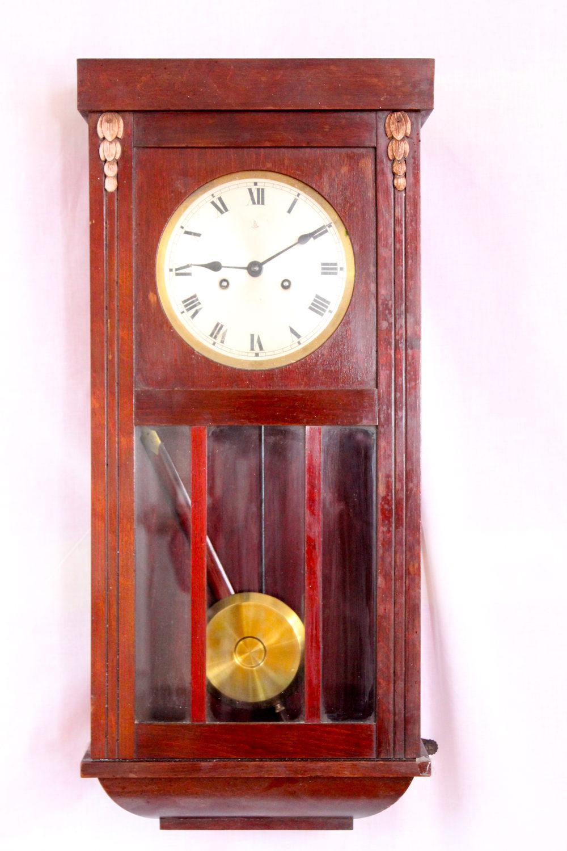 Antiques Atlas 1920s Gustave Becker Striking Wall Clock