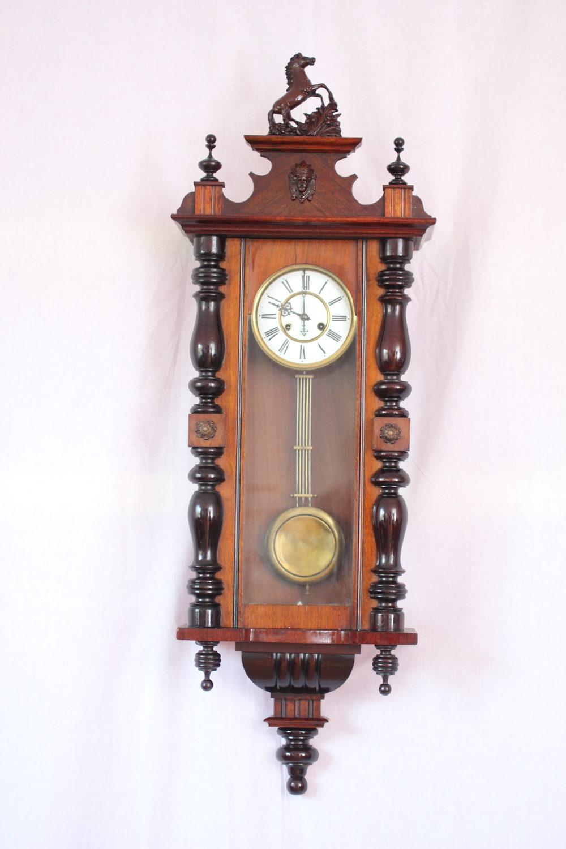 Antiques Atlas Spring Driven Regulator Wall Clock