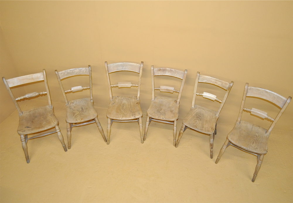 6 farmhouse kitchen chairs r3428 antiques atlas