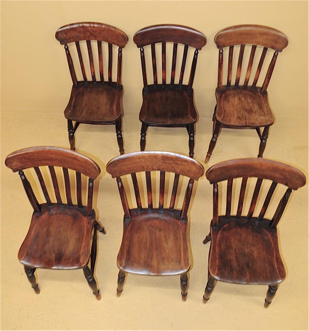 Kitchen Chairs Vintage: 6 Farmhouse Kitchen Chairs