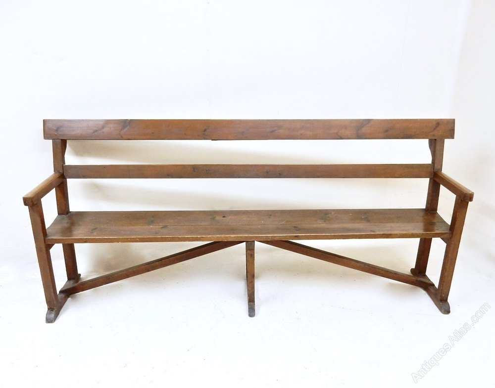 Antique Pine Bench Antiques Atlas