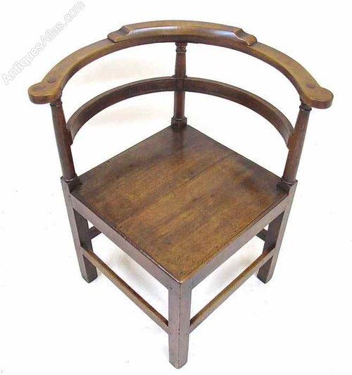 birch corner chair antiques atlas
