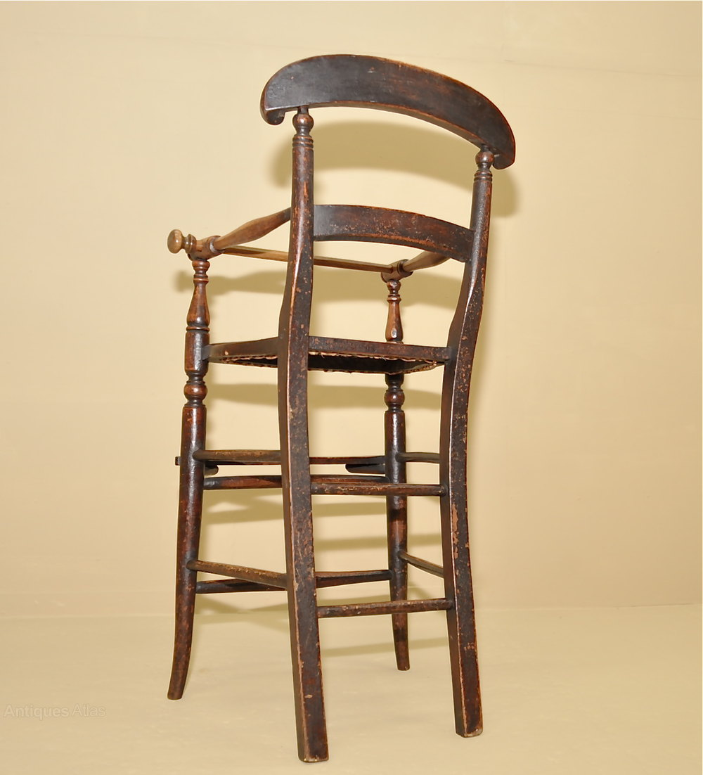 Child39s high chair antiques atlas for Antique high chairs