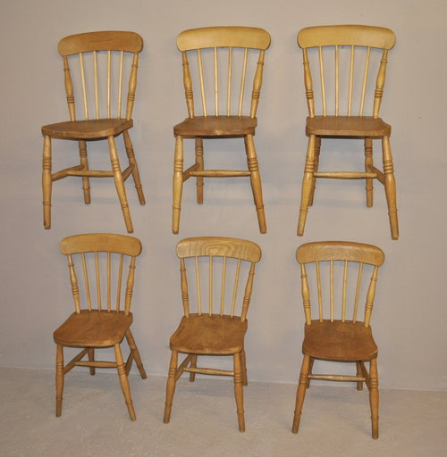 Country Kitchen Chairs - P2982 - Antiques Atlas