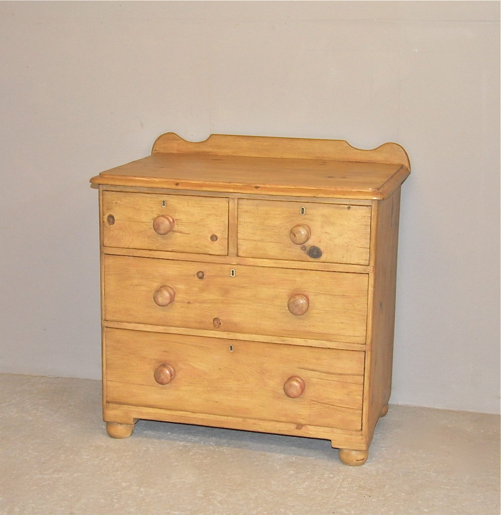 pine chest of drawers p3084 antiques atlas. Black Bedroom Furniture Sets. Home Design Ideas