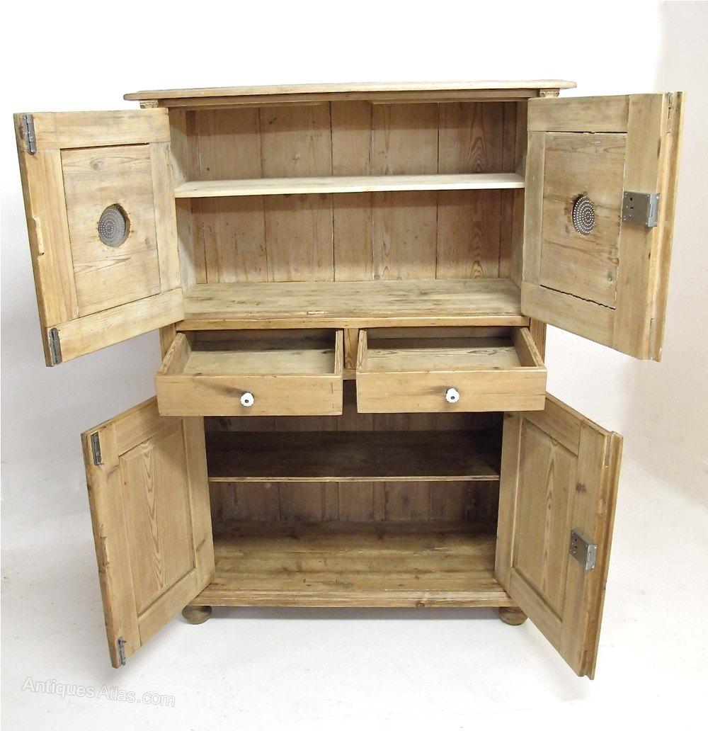Pine Larder Cupboard Antique Cupboards ... - Pine Larder Cupboard - Antiques Atlas