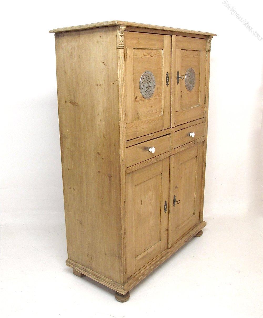 Larder Pantry Cupboard: Pine Larder Cupboard