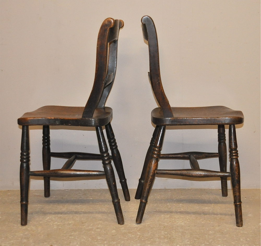 Set Of 4 Kitchen Chairs: Set Of 4 Barback Kitchen Chairs
