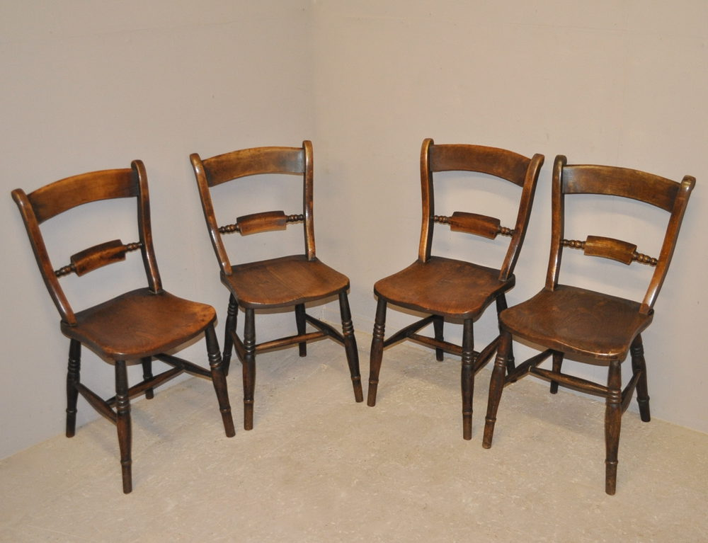 set of 4 barback kitchen chairs q3307 antiques atlas. Black Bedroom Furniture Sets. Home Design Ideas