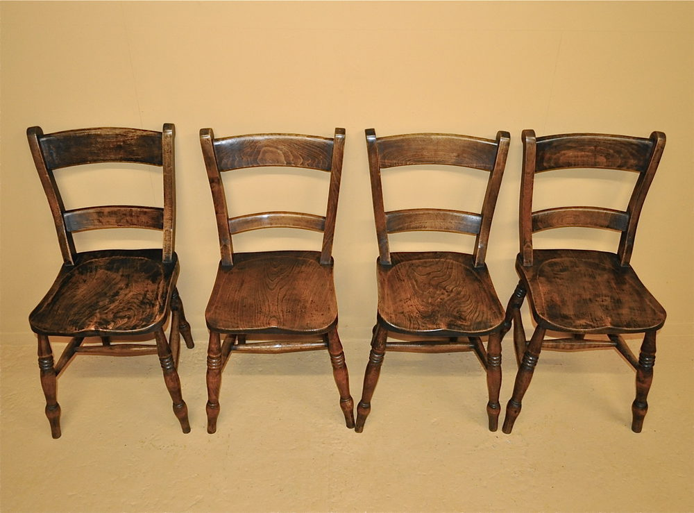 Set Of 4 Barback Kitchen Chairs