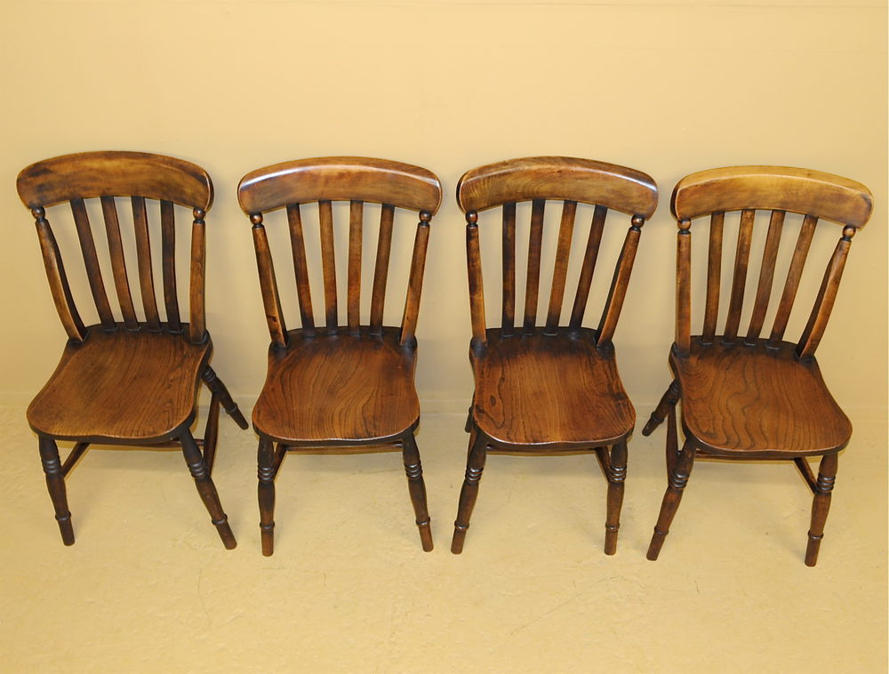 set of 4 windsor kitchen chairs r3479 antiques atlas. Black Bedroom Furniture Sets. Home Design Ideas