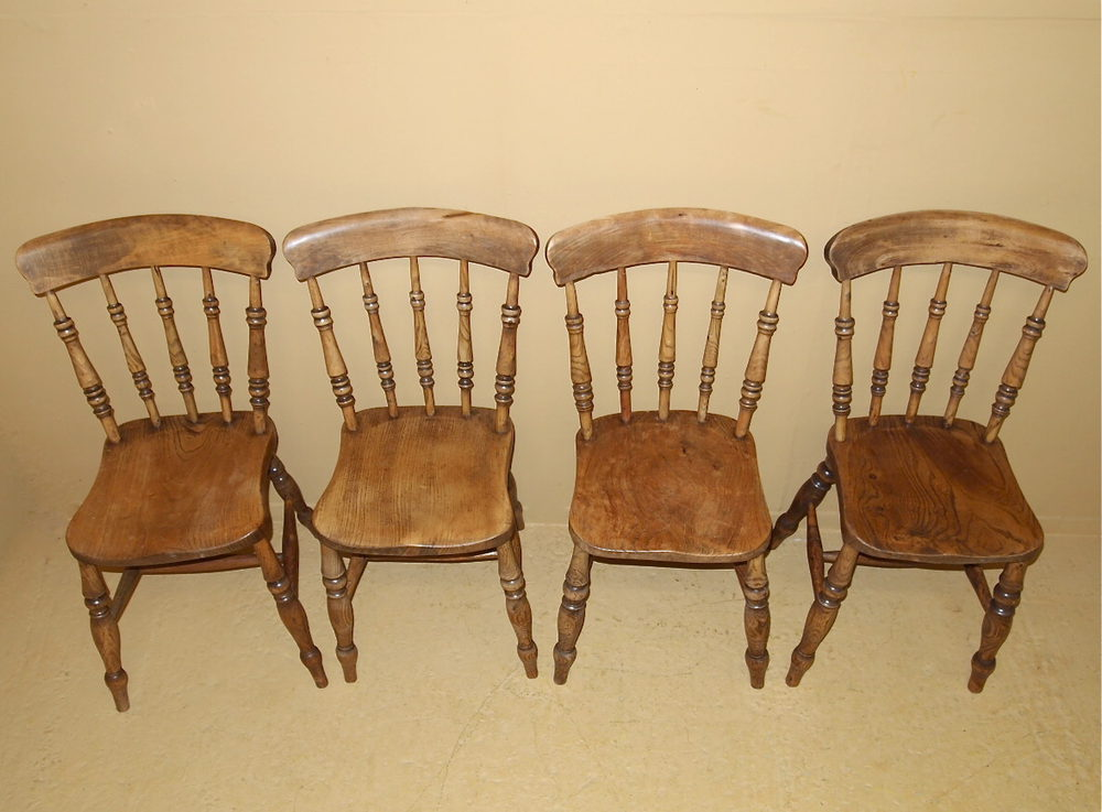 Set Country Dining Chairs R3532 Antiques Atlas