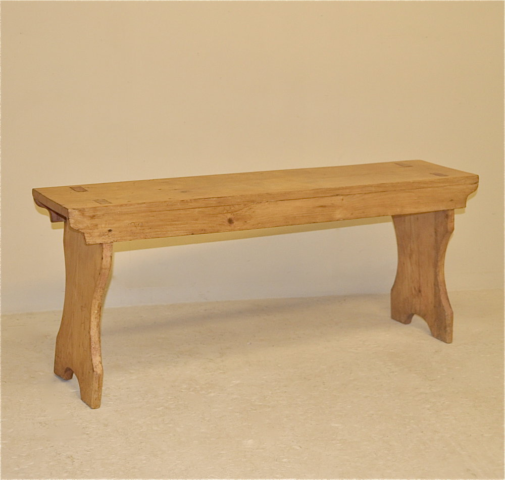 Small Pine Bench Antiques Atlas