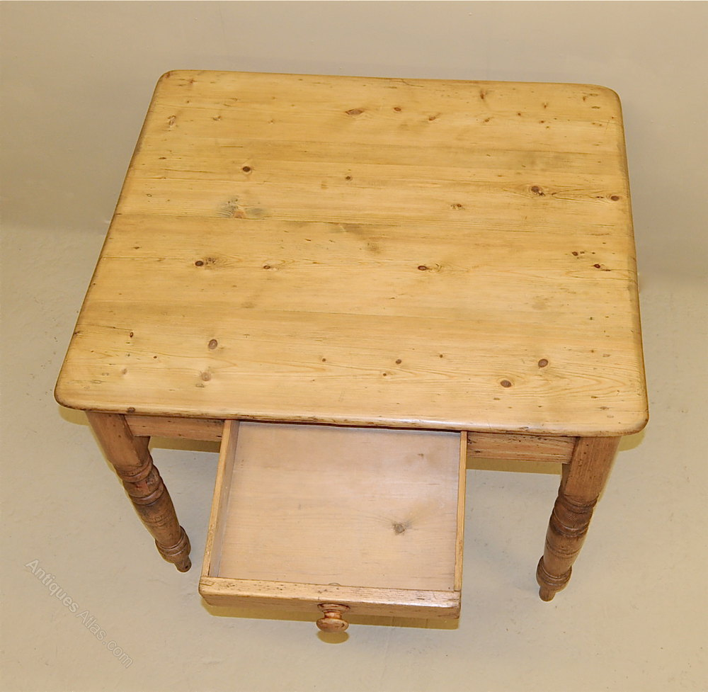 Pine Kitchen Tables For Small Pine Kitchen Table Antiques Atlas