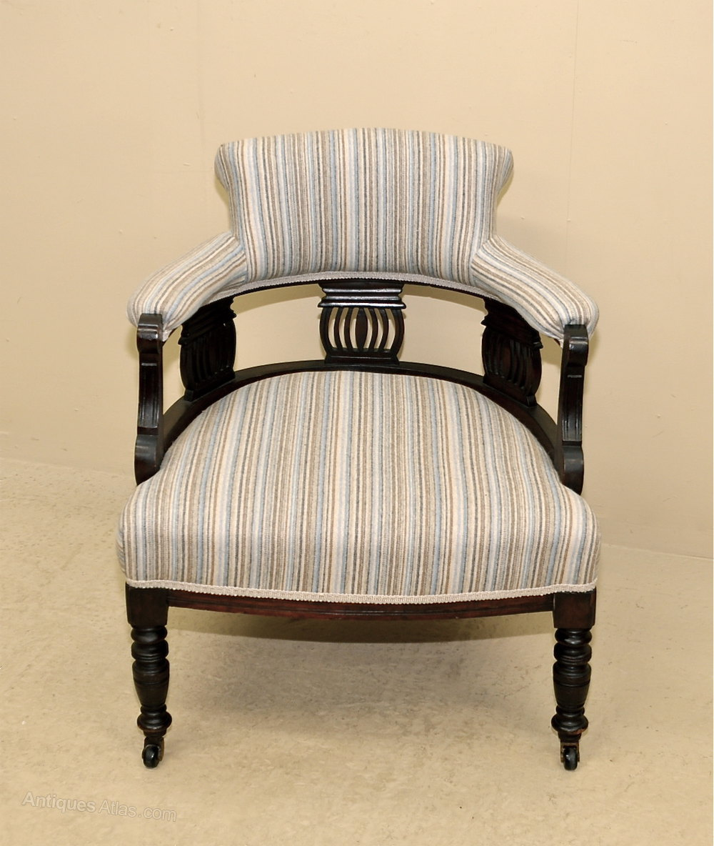 Antique tub chairs - Upholstered Tub Chair Antique Tub Chairs