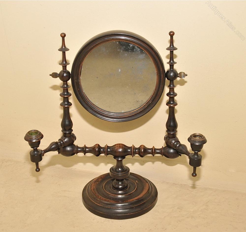 Walnut Shaving Mirror
