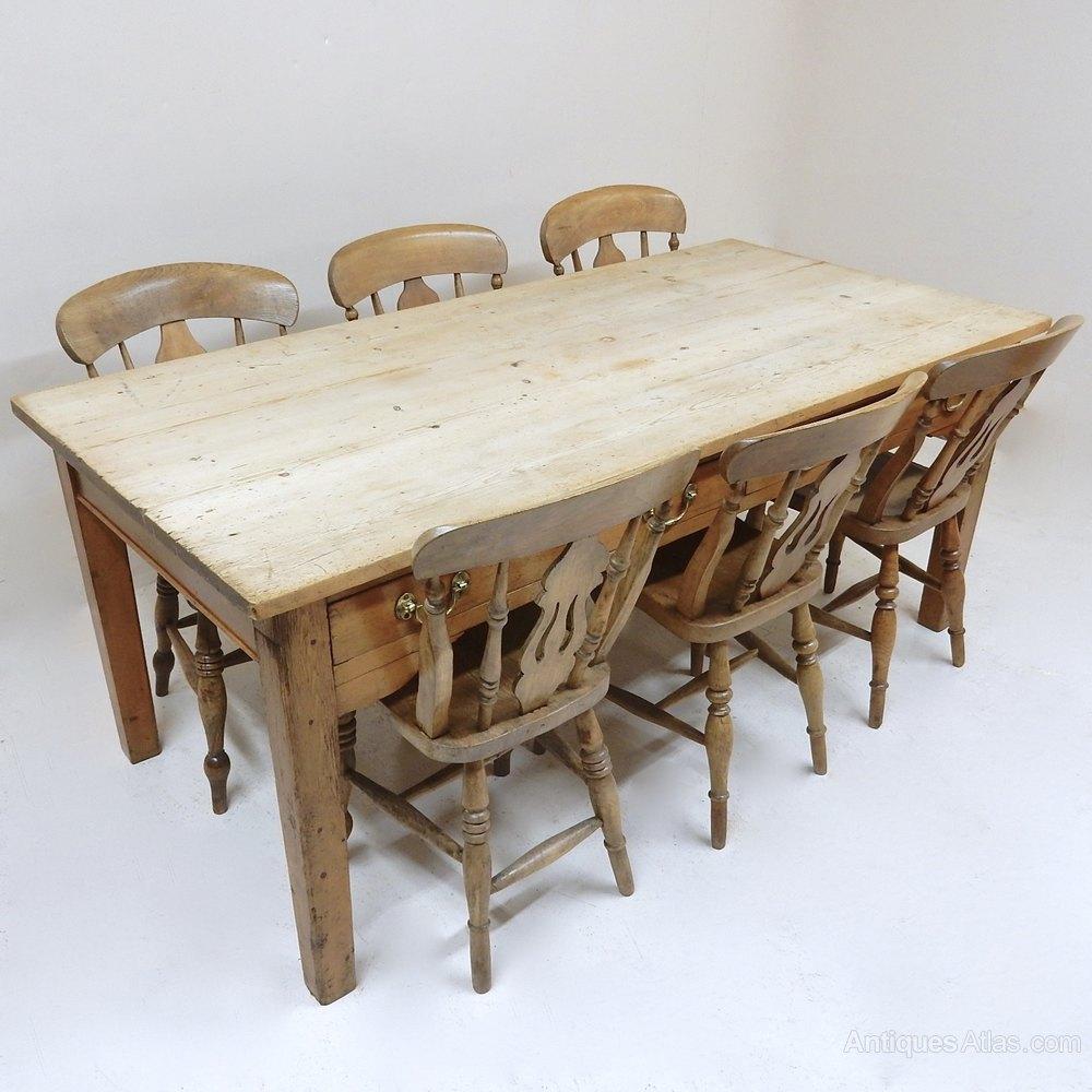 Antique Kitchen Tables: Vintage Farmhouse Kitchen Table