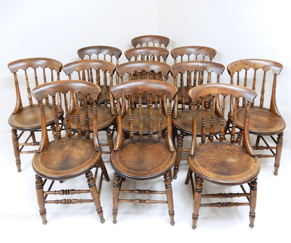 Windsor Spindleback Dining Chairs Antiques Atlas