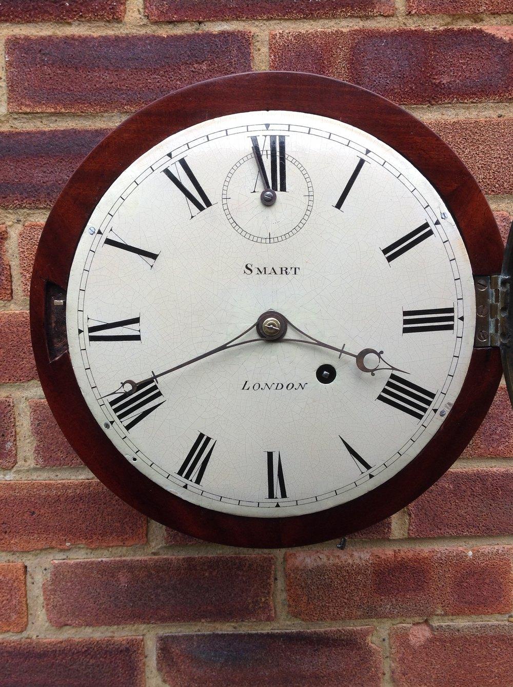 Antiques Atlas Fusee Wall Clock