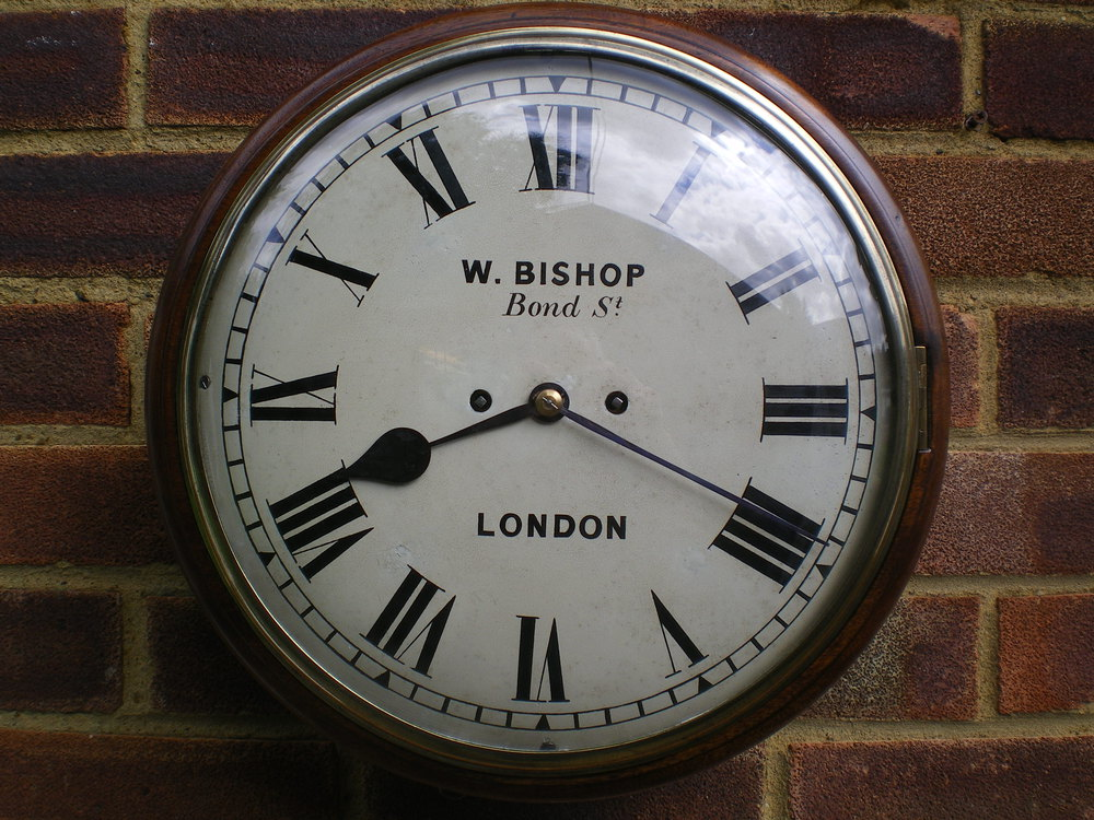 Antiques Atlas Twin Fusee Wall Clock