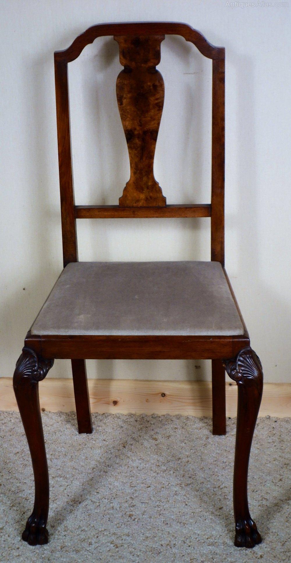 Elegant walnut bedroom chair antiques atlas - Vintage pieces of furniture old times elegance ...