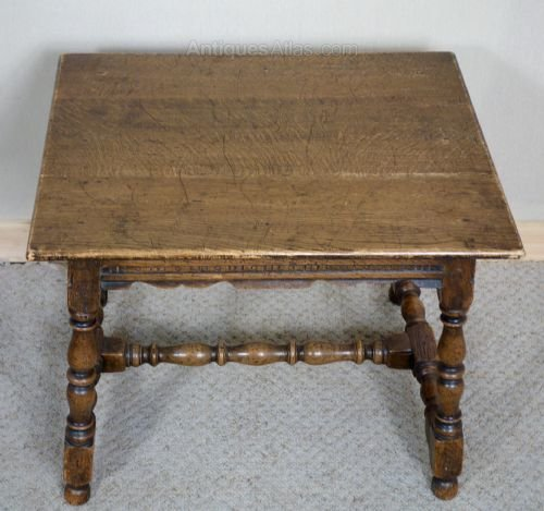 Solid Oak Distressed Coffee Table Antiques Atlas