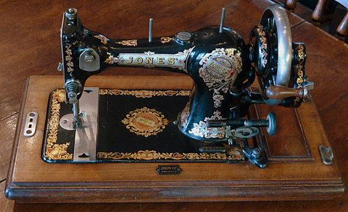 jones sewing machine instruction manual