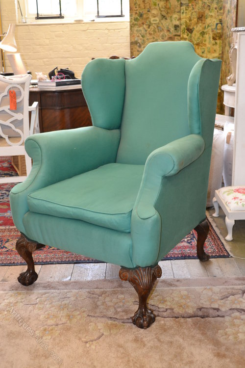 Georgian Style Wing Chair