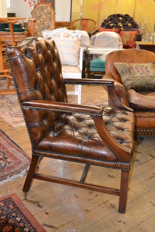 Leather Library Chair Antique Library Chairs  Antiques Atlas   Leather Library Chair. Antique Library Armchairs. Home Design Ideas