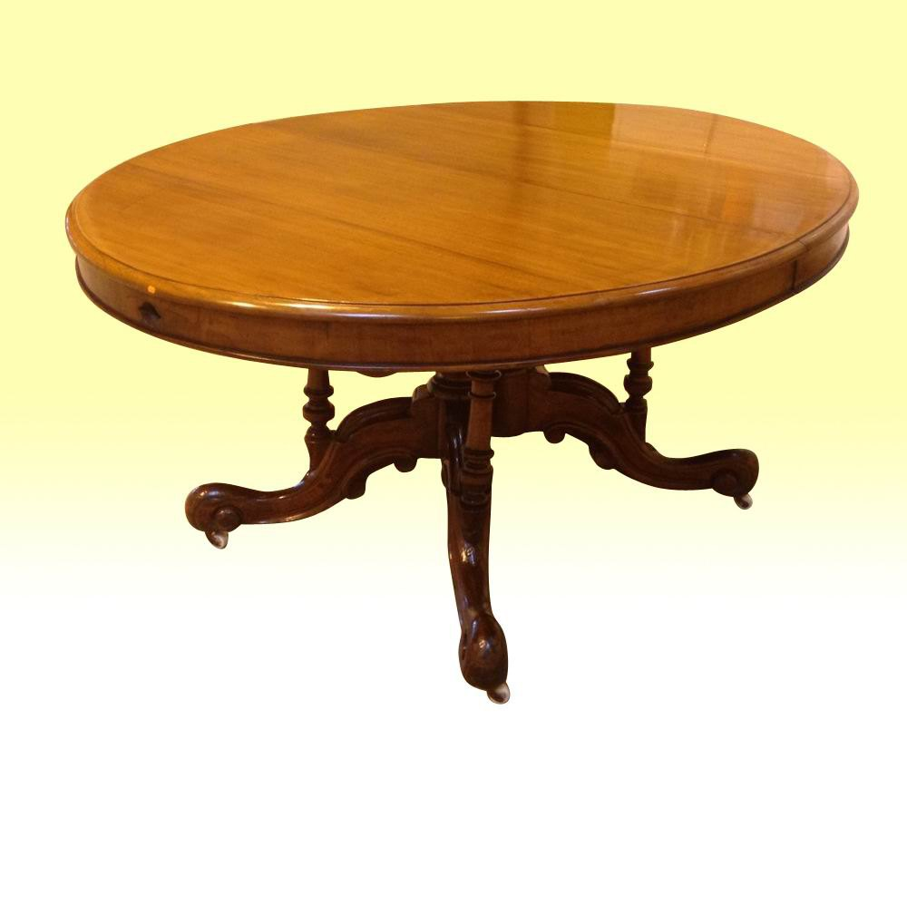 Antique Mahogany Oval Extending Dining Table Antiques Atlas