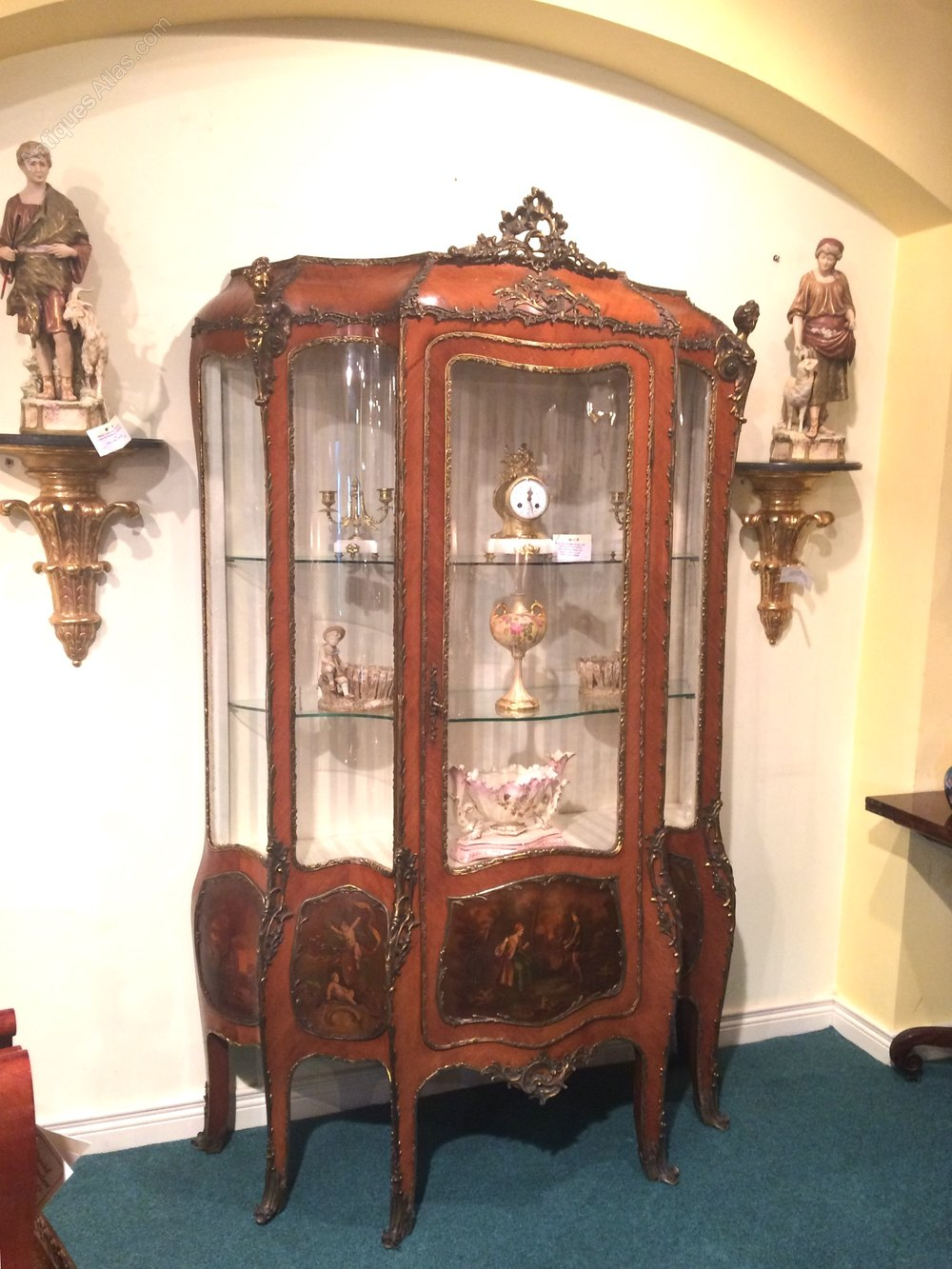 kingwood vernis martin display cabinet antiques atlas. Black Bedroom Furniture Sets. Home Design Ideas