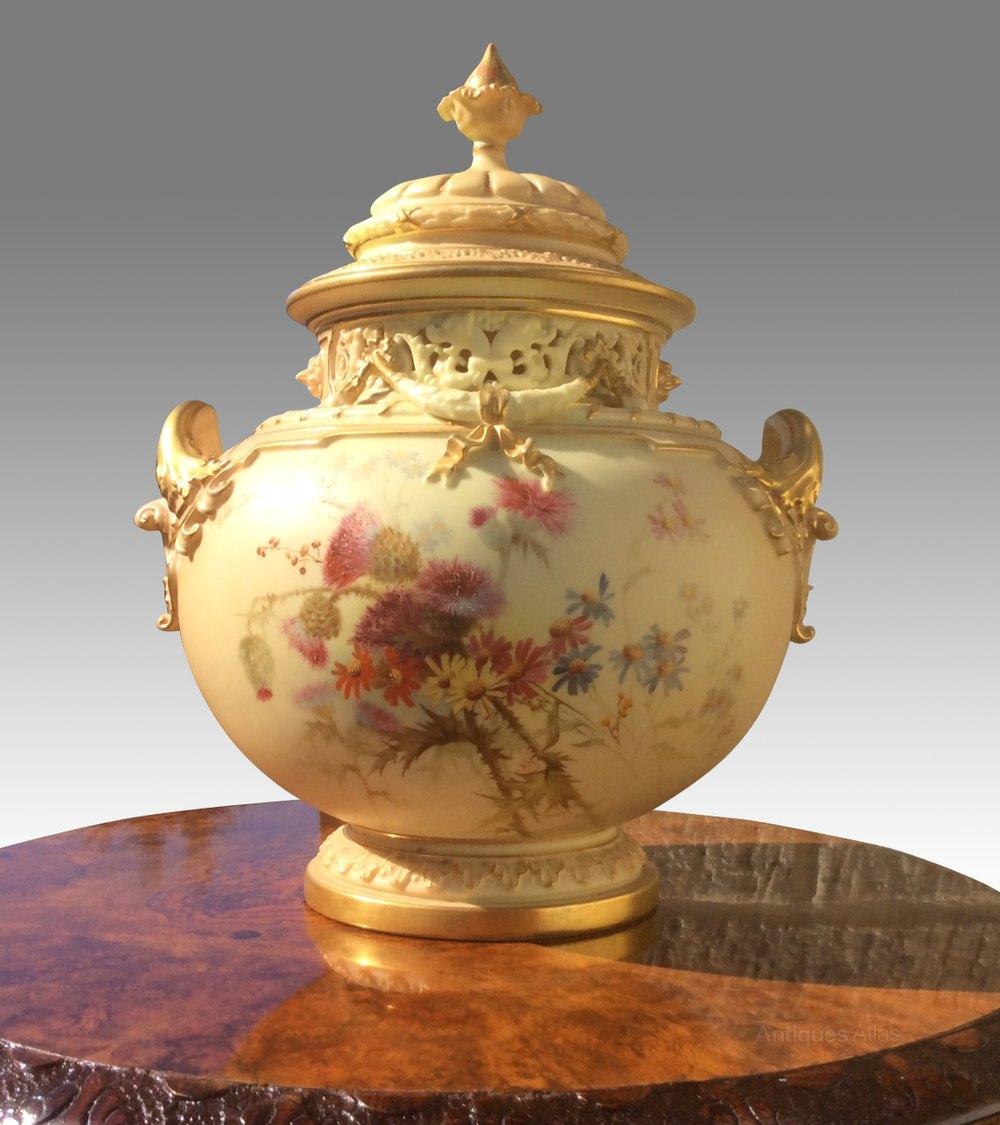Magnificent Large Royal Worcester Antique