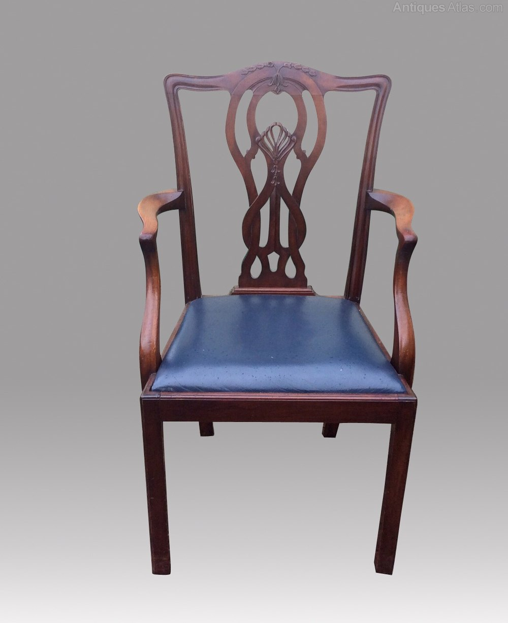 Set Of Twelve Antique Mahogany Dining Room Chairs Antiques Atlas