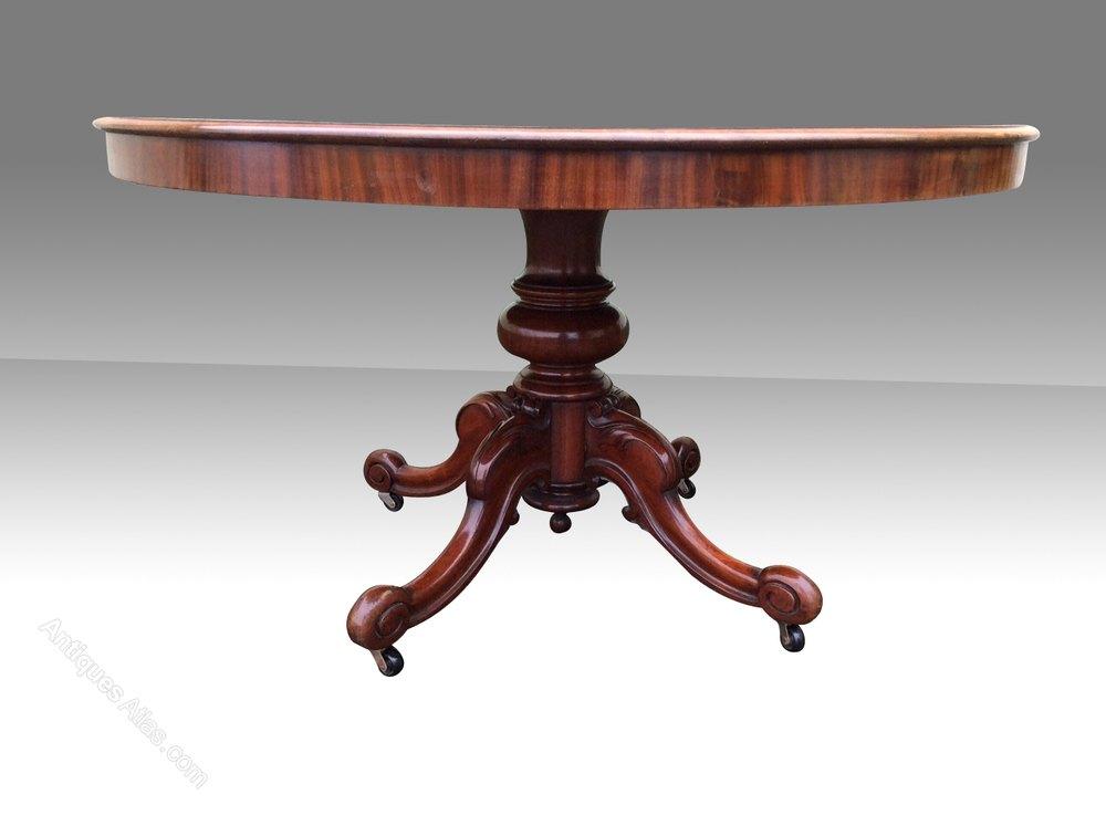 Super Large Antique Mahogany Circular Dining Table  : Superlargeantiquemahoganycas224a566z 2 from www.antiques-atlas.com size 1000 x 747 jpeg 46kB