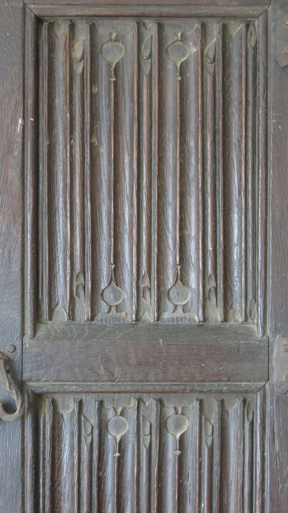 Tudor Linenfold Door Antiques Atlas