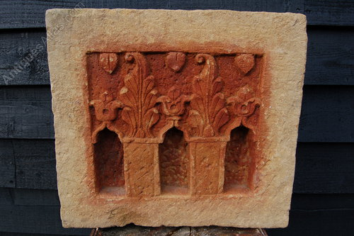 Antiques atlas small carved stone shrine