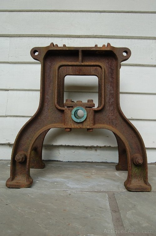 Antiques Atlas Vintage Industrial Machine Table Base