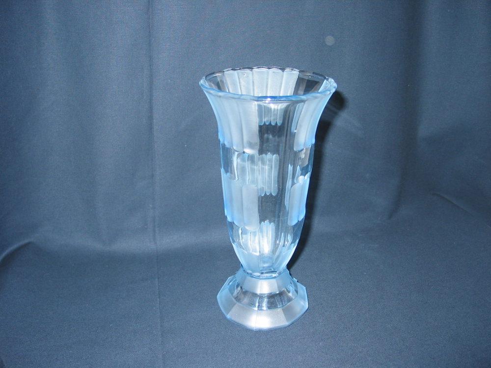 Antiques Atlas Art Deco Style Glass Vase