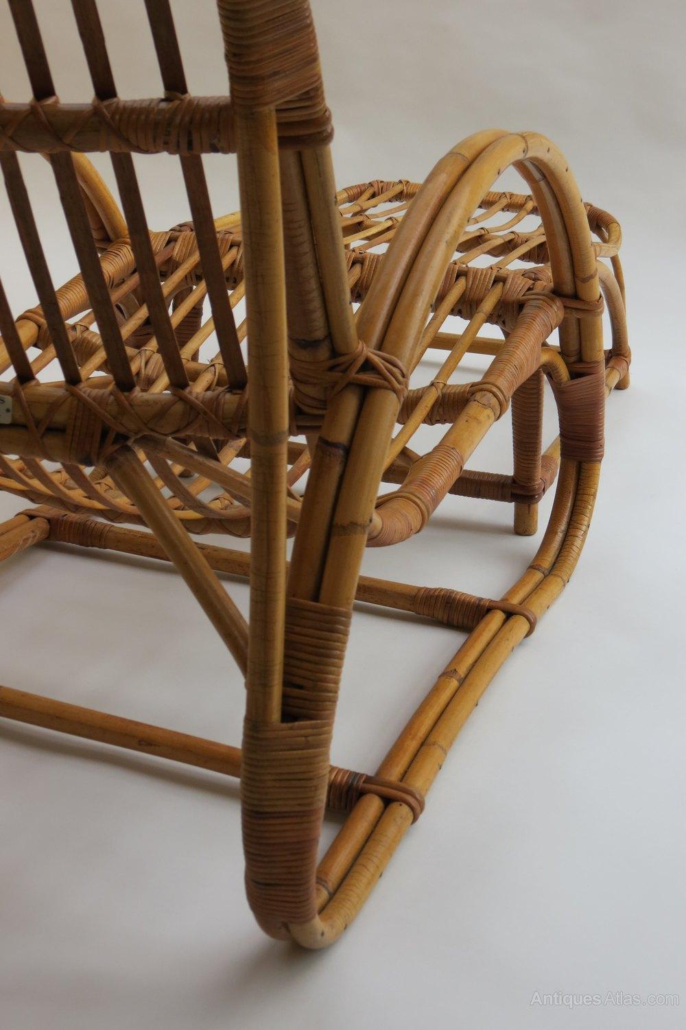Antiques Atlas 1960s Invincible Cane Lounge Chair