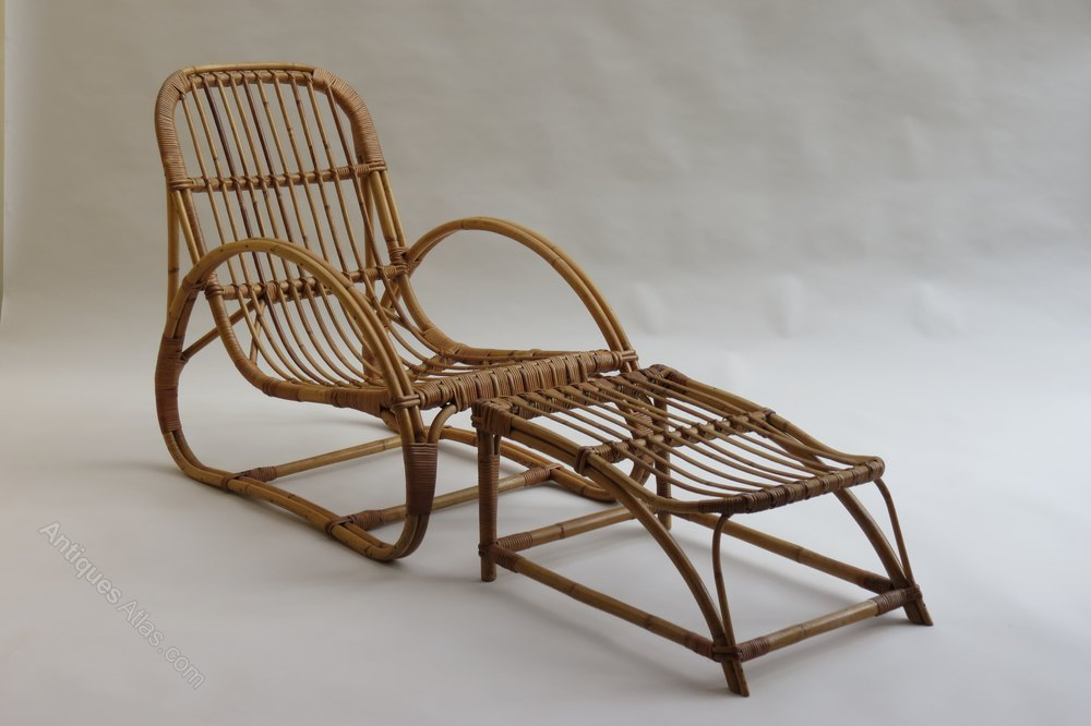 Antiques Atlas 1960s Invincible Cane Lounge Chair And