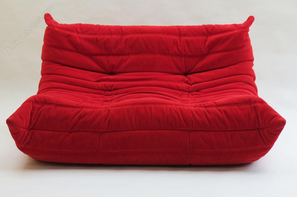antiques atlas togo sofa by ligne roset. Black Bedroom Furniture Sets. Home Design Ideas
