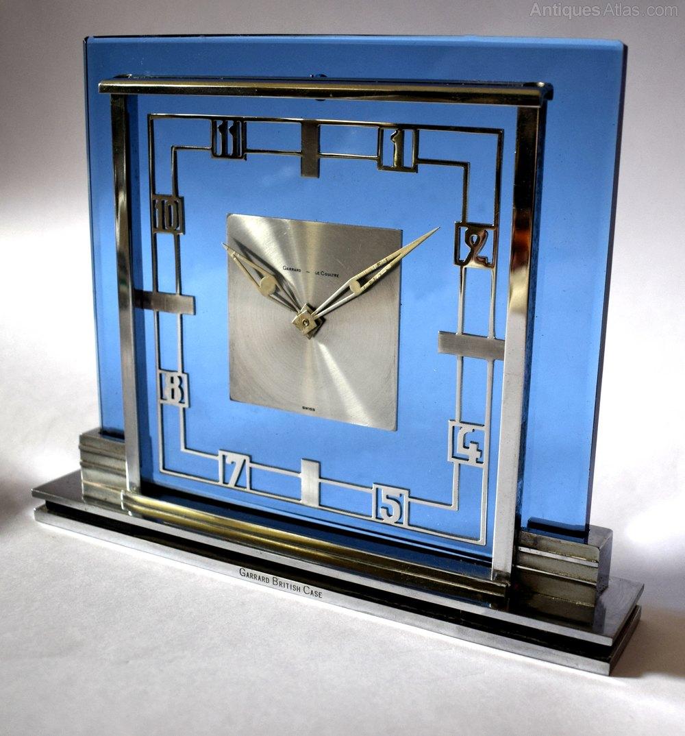 Antiques atlas art deco garrard lecoultre mantle clock - What is art deco ...