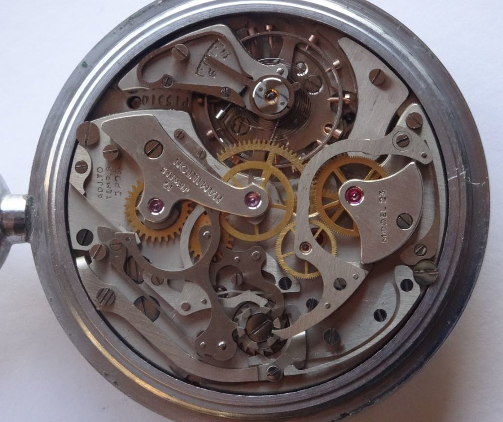 hamilton pocket watch dating